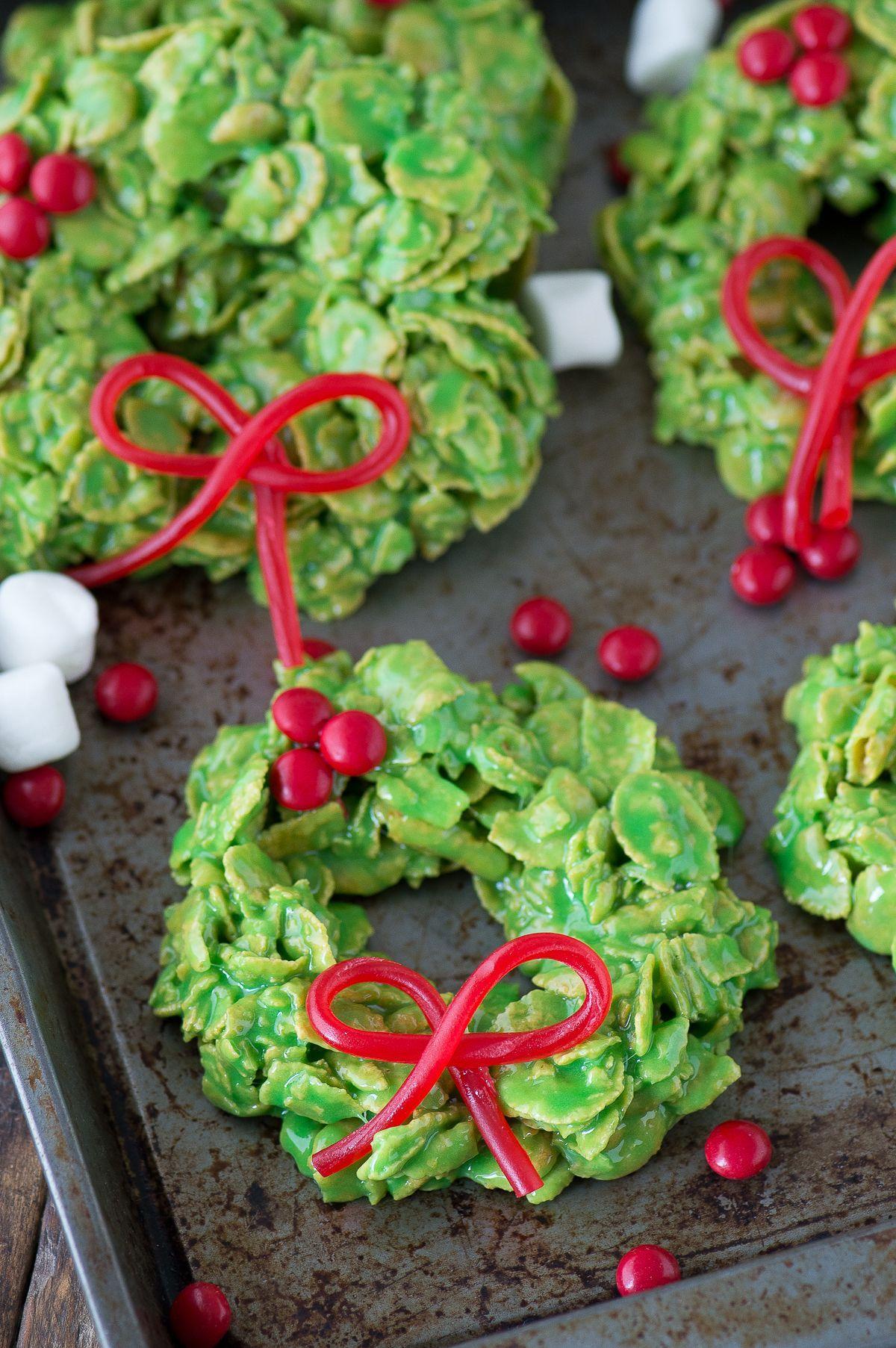 Christmas Wreath Cookies Christmas Christmas Desserts Christmas