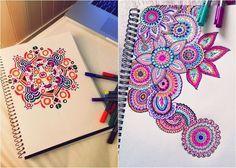 Customizando cadernos | Dicas de Garota Cole um papel sulfite na capa. Pegue canetinhas coloridas e deixe a imaginação fluir! Sendo boa ou não na arte do desenho, tente. Em última opção, você pode encontrar desenhos prontos na internet e simplesmente decalcar