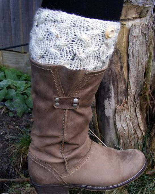 Free Knitting Pattern Friday Free Boot Cuff Knitting Pattern More
