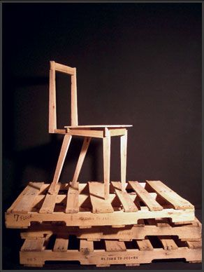 Andrew Montgomery pallet chair