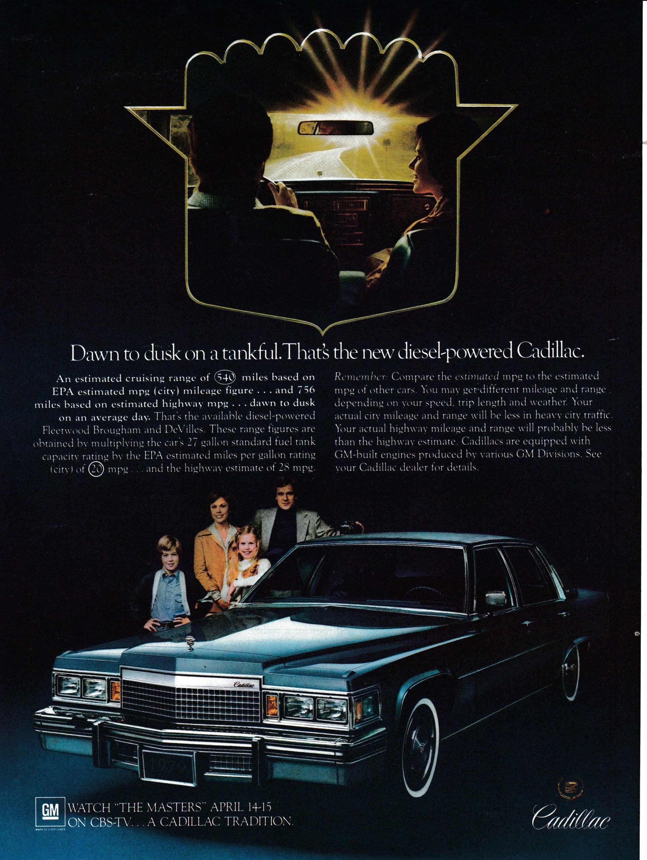 1979 Cadillac Fleetwood Brougham-4 Door Masters Golf Tournament