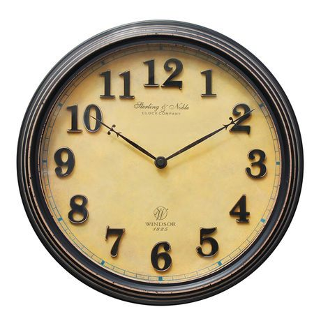 Old World Wall Clock Walmart Ca 20 Wall Clock Clock Old World