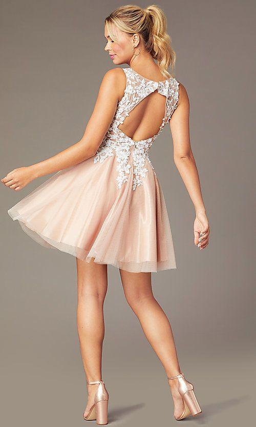 Pin by Shaylynn Milton on sweet 16 :) | Peach prom dresses