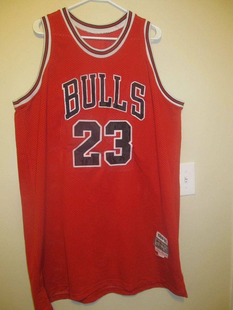 online store cc0cc d9751 Details about Michael Jordan Chicago Bulls Mitchell and Ness ...