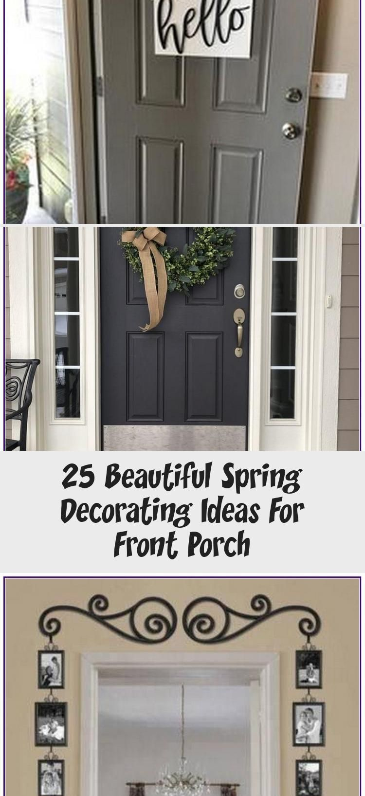 25 BEAUTIFUL SPRING DECORATING IDEAS FOR FRONT PORCH AUX