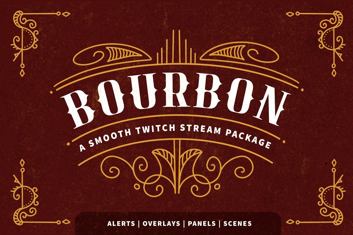 MidCentury Christmas Social Pack in 2020 Twitch