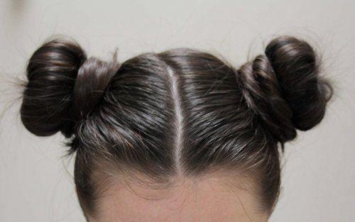 Hair Craze: Raver Pigtail Buns aka Cinnamon Buns aka Bantu Knot Buns....   It's Just Hair 24/7