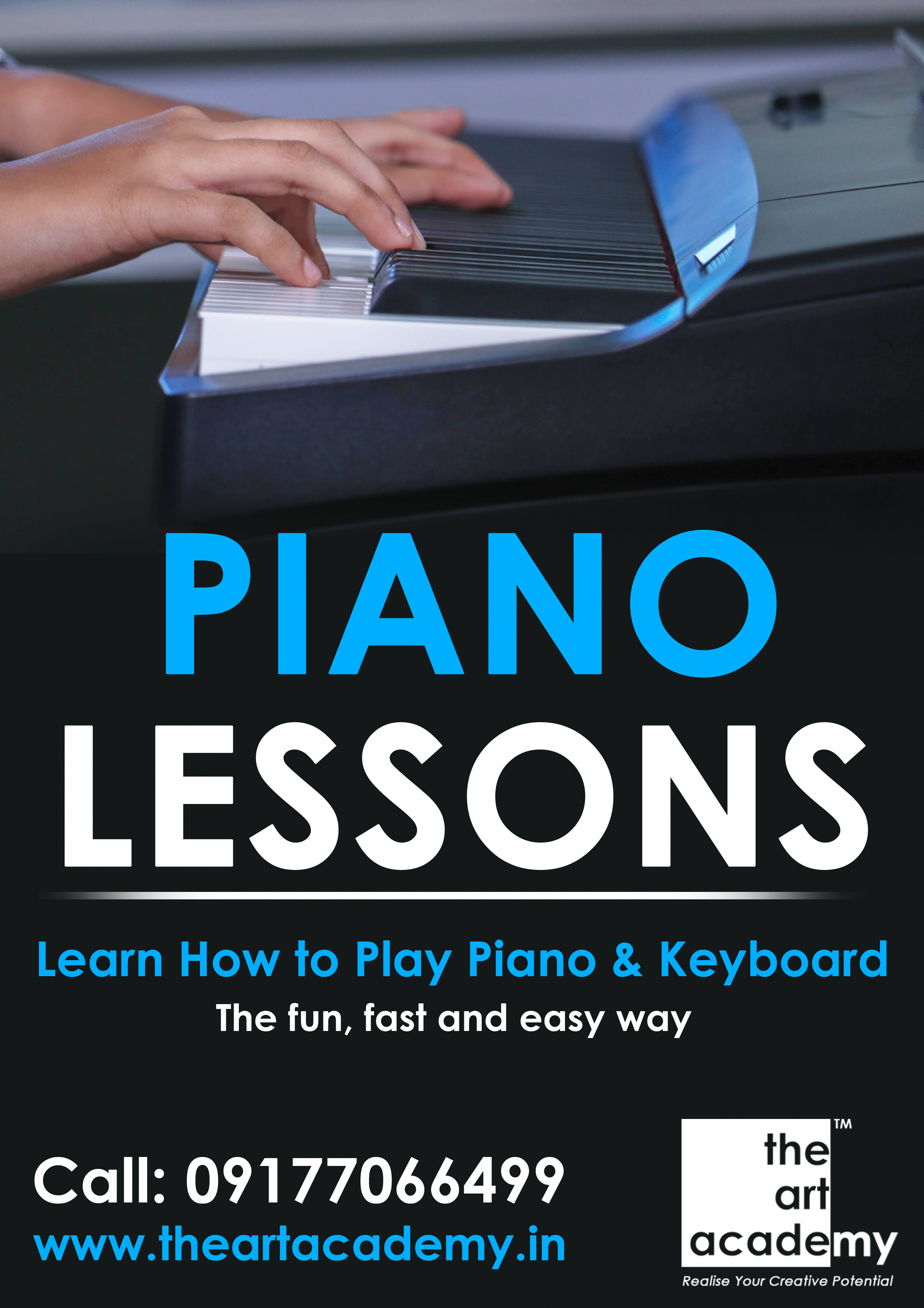 Piano Classes For Adults Children In Secunderabad At The Art Academy Enrol Now 09177066499 The Art Academy H No 9 Piano Classes Piano Lessons Learn Piano