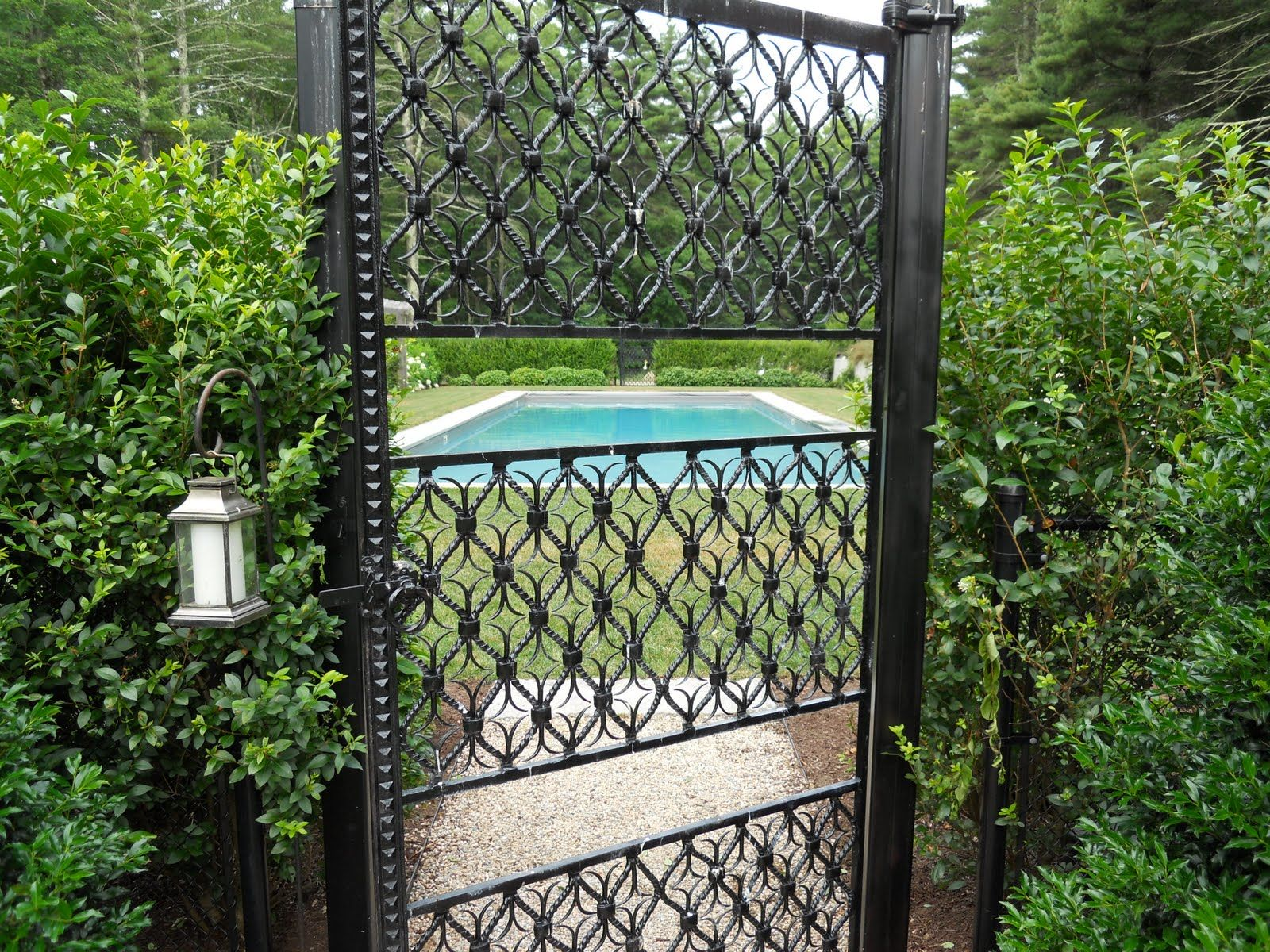 8 foot removable aluminum fence sections - Google Search | Fences ...
