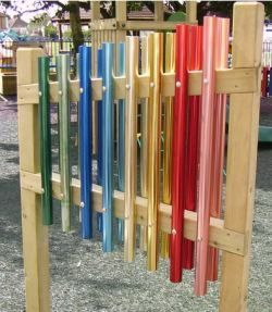 Easy Diy Playground Chimes Making Things Wind Chimes Diy Wind