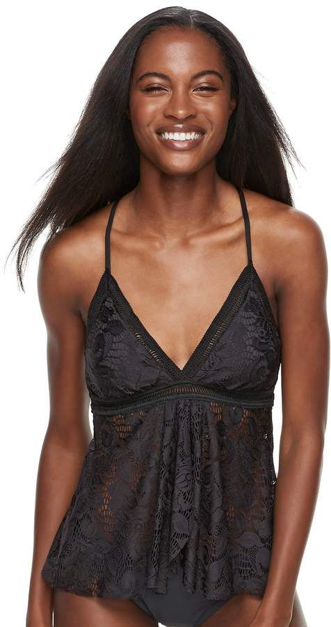 3222d4a1 Women's Apt. 9® Tummy Slimmer Crochet Flyaway Tankini Top | Products ...