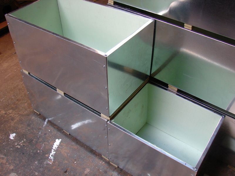 Insulated Sheet Metal Planters For Terraces Metal Planters