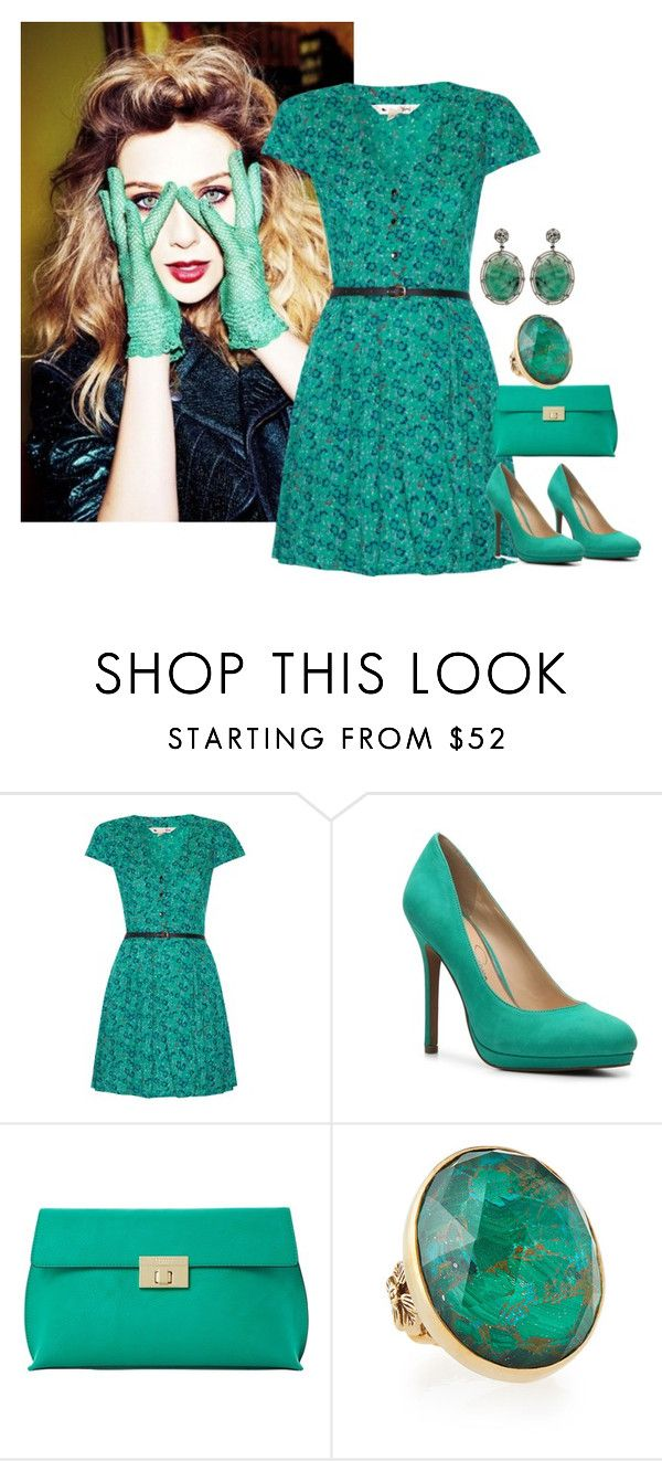 """""""#53"""" by tash005 ❤ liked on Polyvore featuring Olsen, Yumi, Jessica Simpson, Dune, Stephen Dweck and Annoushka"""