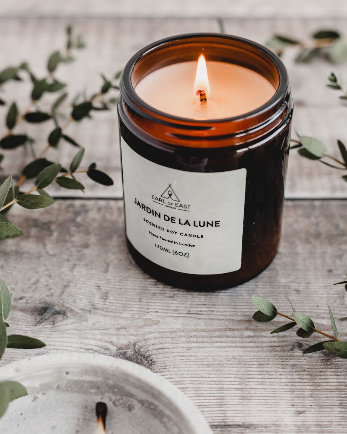Jardin De La Lune Scented Candle By Earl Of East London Candles