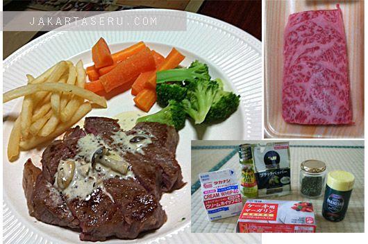 Resep Steak Saus Jamur Mushroom Sauce Resep Steak Jamur Makanan