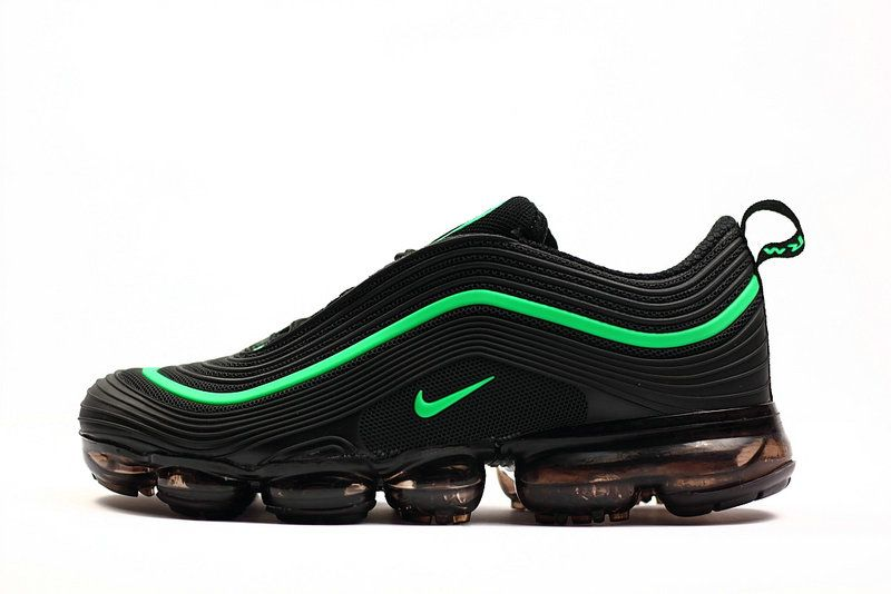 outlet store 0f7bb 85211 How To Buy New 2018 Nike Air Max 97 VaporMax KPU Emerald Green Black Sneaker