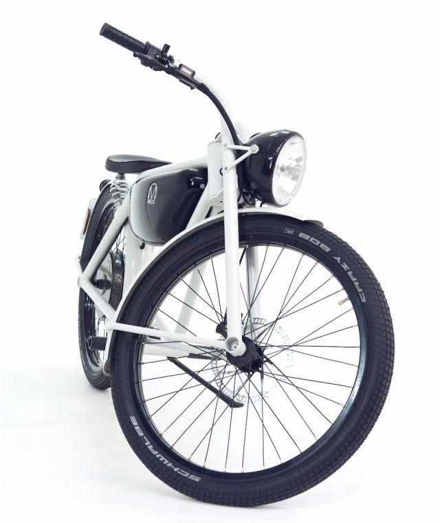 Bicis eléctricas con aspecto retro
