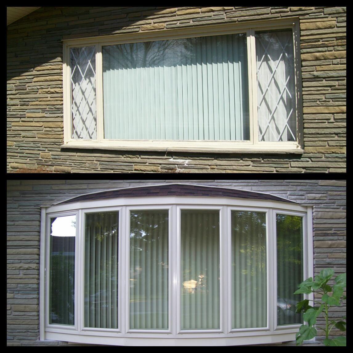 United Bow Window Bow Window Replace Door Windows