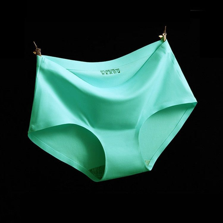 a26e27f6b98a Top Quality Women's Panties 17 Colors ice silk Cool and refreshing seamless  underwear triangle big yards of female briefs