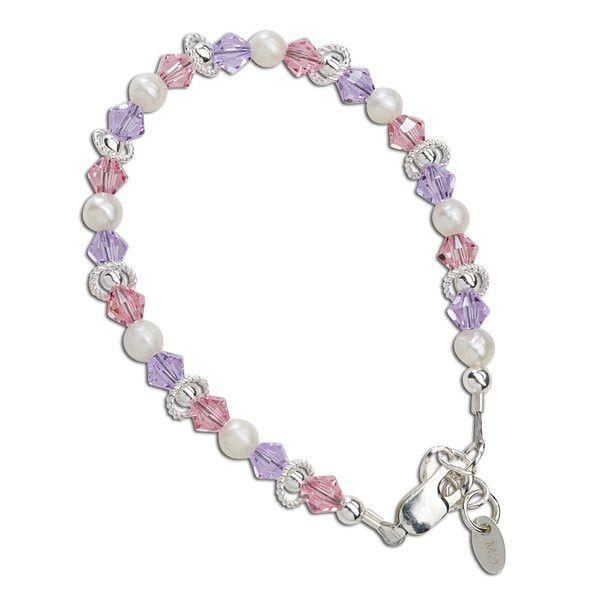 Cherished Moments Natalee Sterling Silver Infant Bracelet