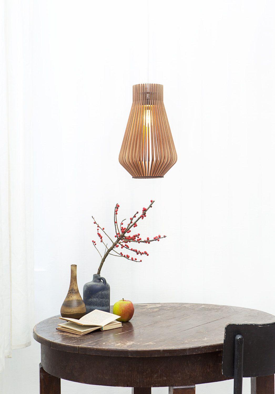 Skandinavischen Stil aus Holz Hängeleuchte / Beleuchtung / design ...