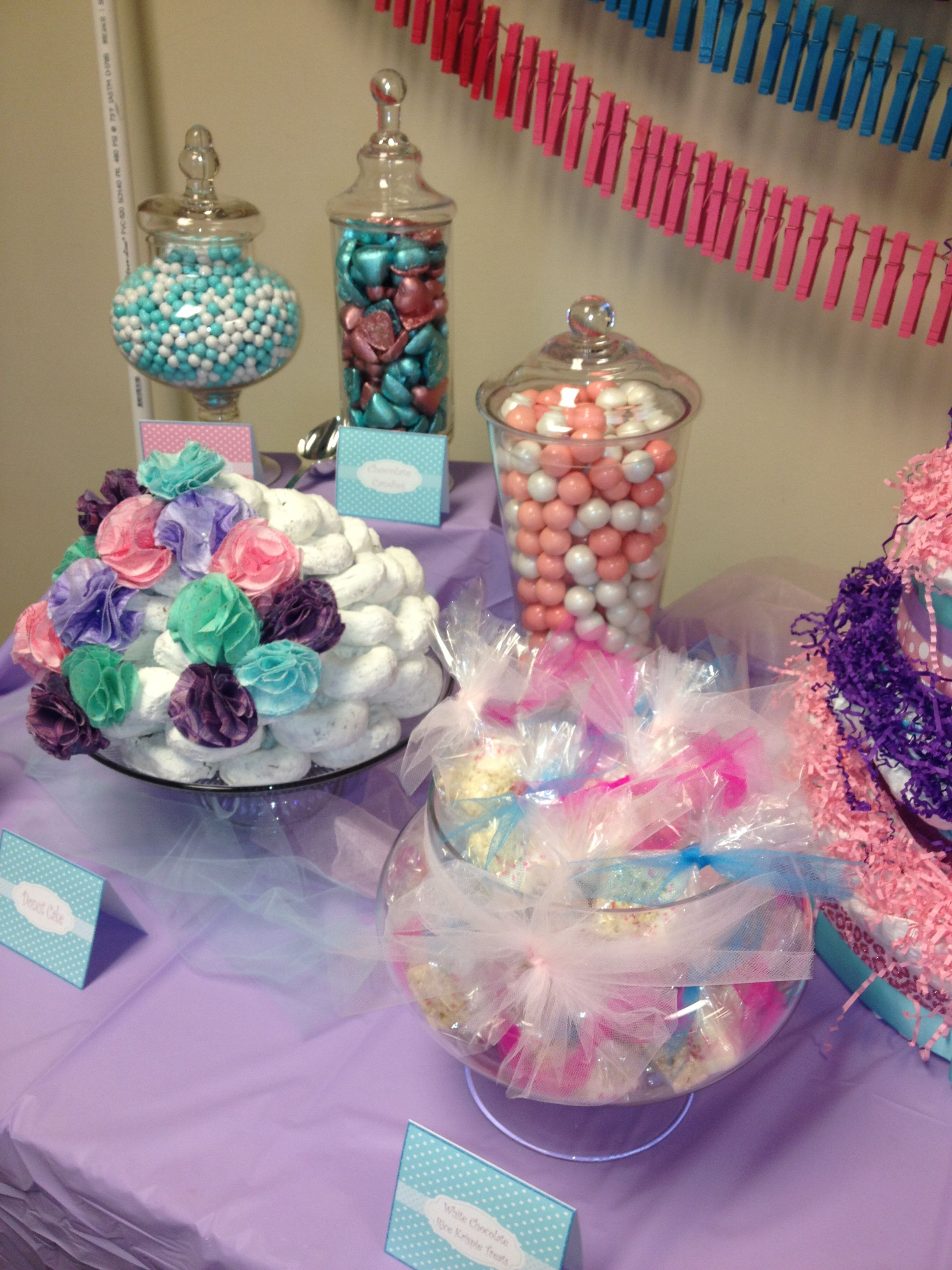 Baby shower candy table oh baby pinterest baby shower baby shower candy table reviewsmspy