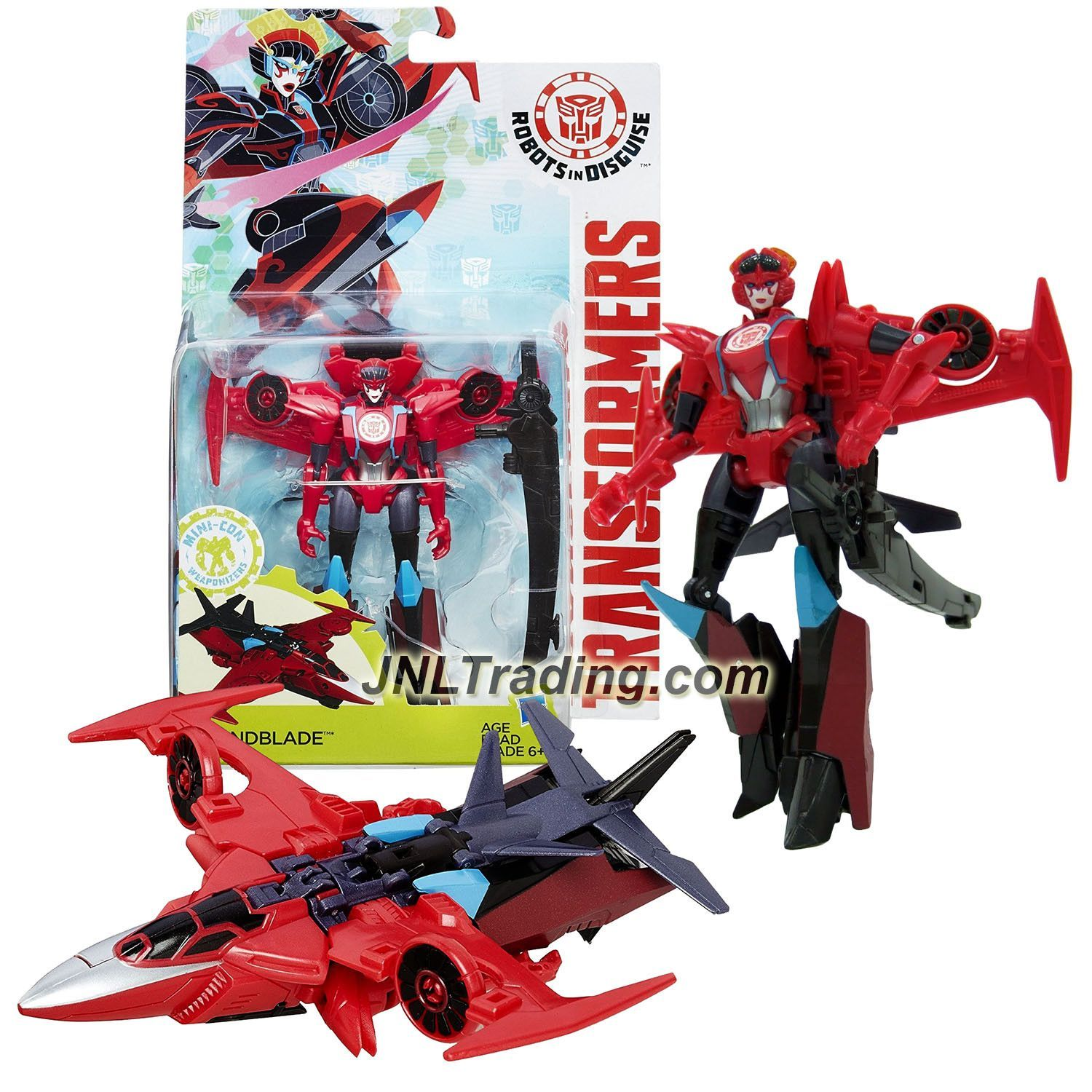 Transformers Robots in Disguise AUTOBOT DRIFT Deluxe Class Figure HASBRO Sealed