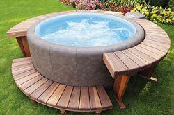 Soft Tub For Sale >> Softub Prestige 300 6 Person Soft Tub Architect Cedar Deck