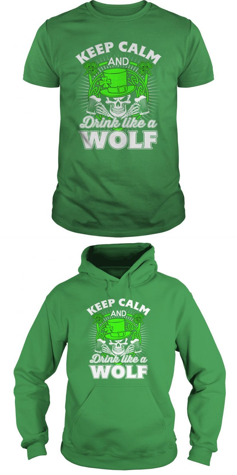 Saint Patrick 8217 S Day T Shirt Funny Wolf 8211