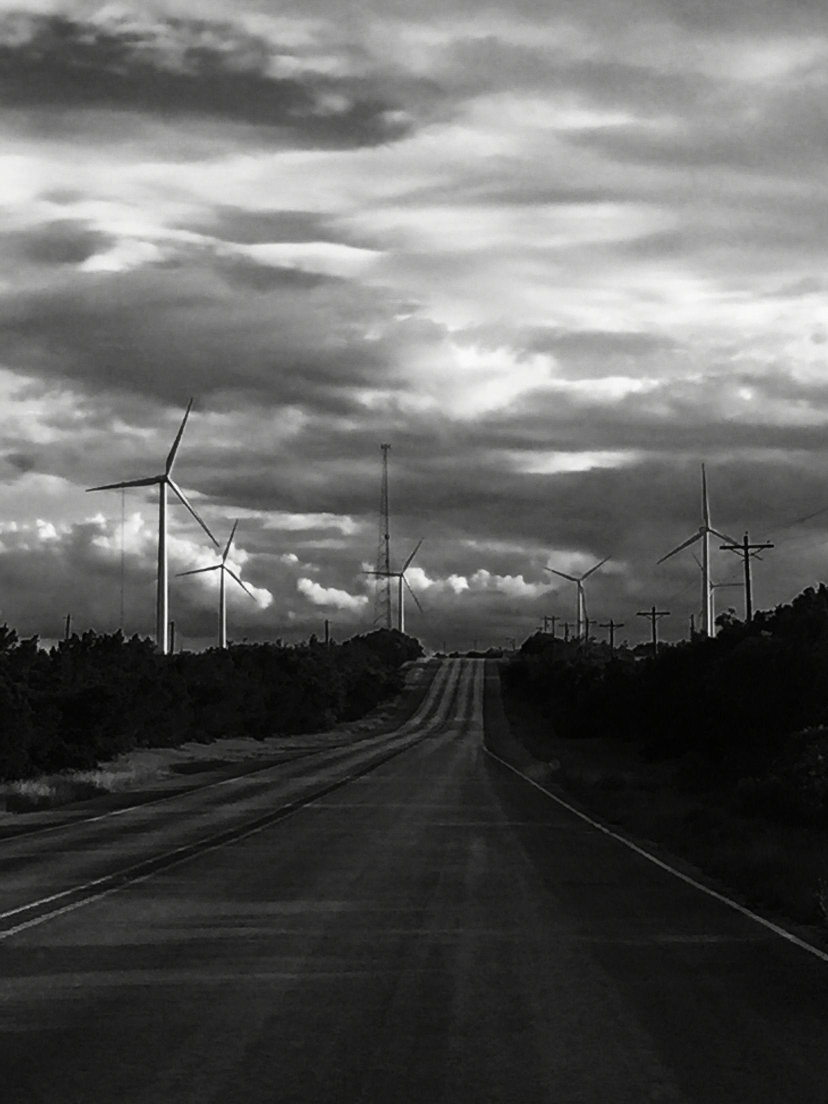 West Texas windmills