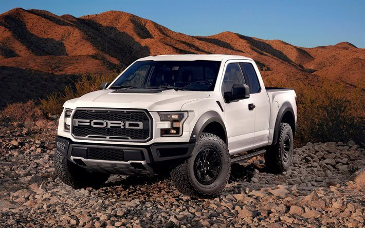 Download Wallpapers Ford F 150 Raptor 2017 Pickup Truck Usa
