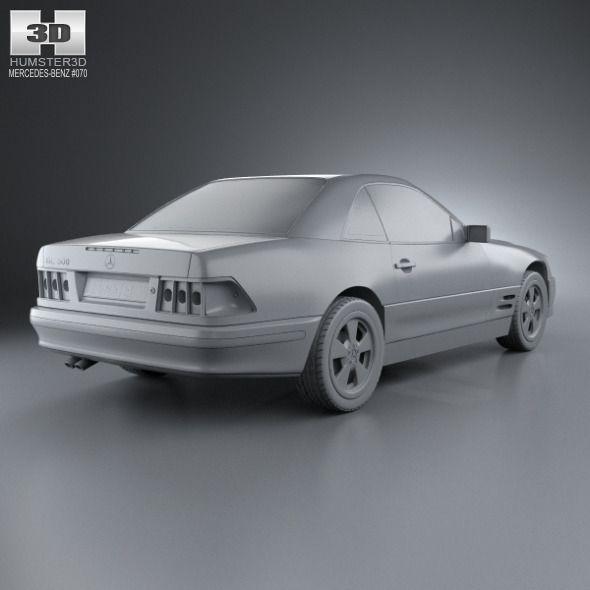 Mercedes-Benz SL-class (R129) 2002 #SL, #Benz, #Mercedes