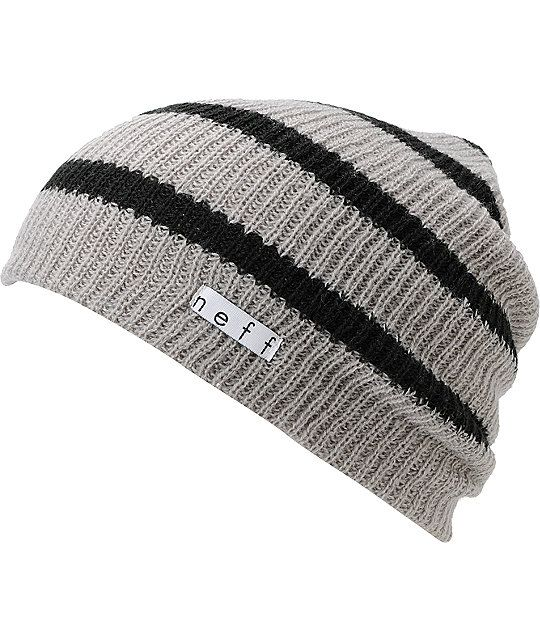 cd7f2bbbcf7 The Neff Daily slouch beanie is the ultimate in classic head wear. This  grey and
