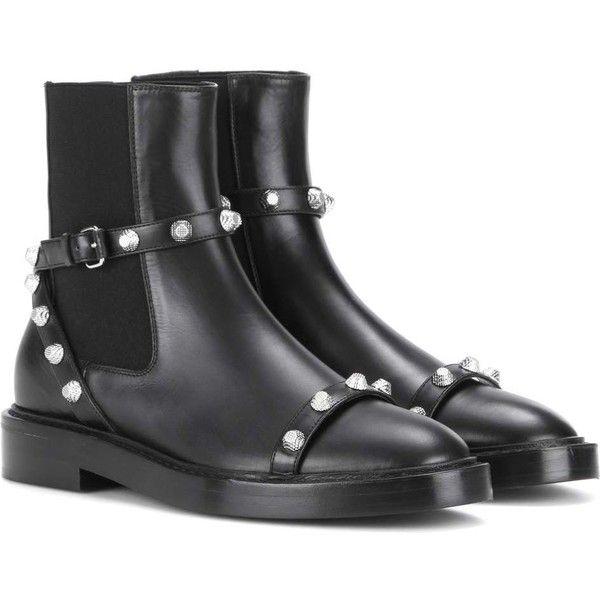 Balenciaga Giant Leather Chelsea botas on (10 035 SEK) liked on botas 2976ad