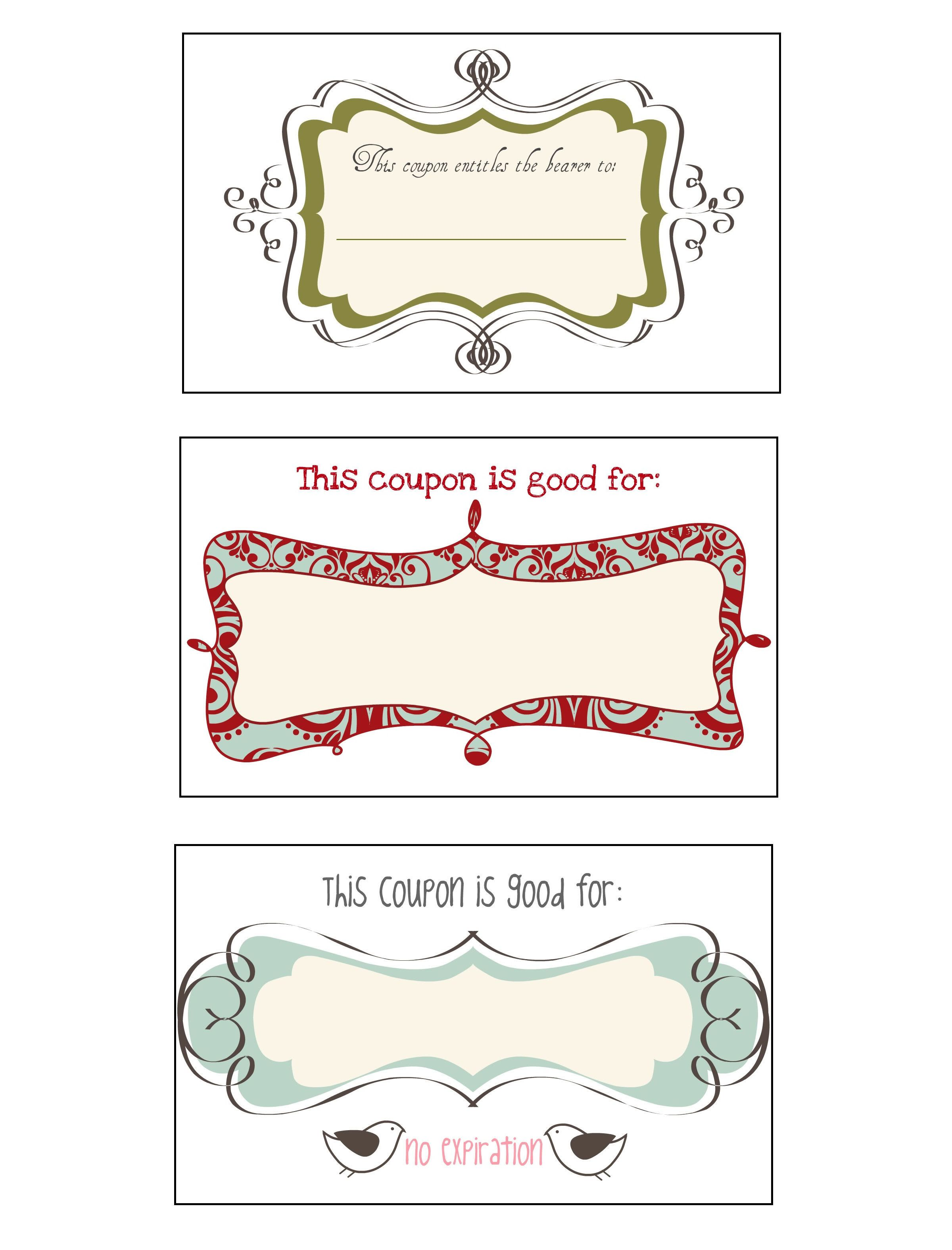 Coupons  Gifts    Printable Coupons And Crafty