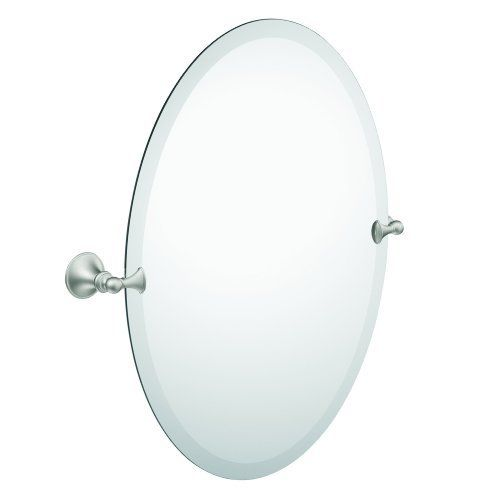 63 Moen Dn2692bn Glenshire Oval Tilting Mirror Brushed Nickel By