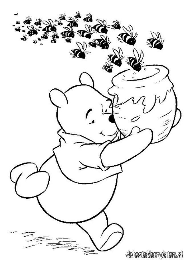 Pin By Lyssa Sylvie On Coloring Pages Winnie The Pooh Pictures Bee Coloring Pages Disney Coloring Sheets