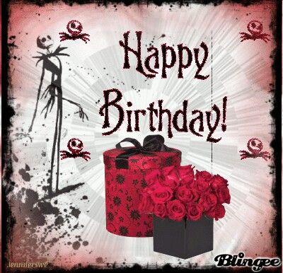 Jack Skellington Happy Birthday Happy Birthday Skulls Happy