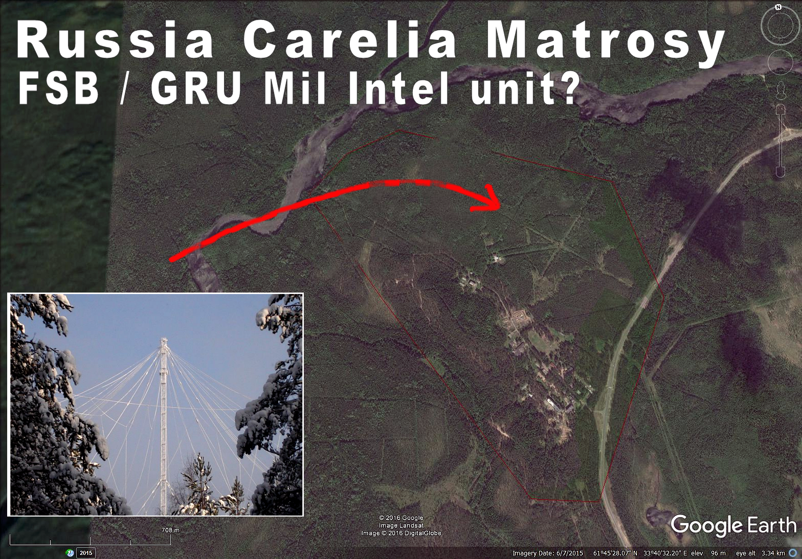 Massive new radars at Baltic Sea coast