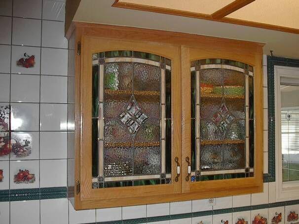 Kitchen Cabinet Glass Door Design
