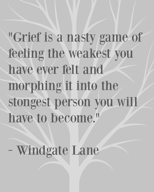 Dreams After Grief Windgate Lane