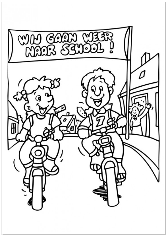 pin schoolvereniging rehoboth op school kleurplaten