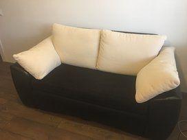 Dvivietis Su Miegama Funkcija Patalynes Deze Pufai Sofa Couch