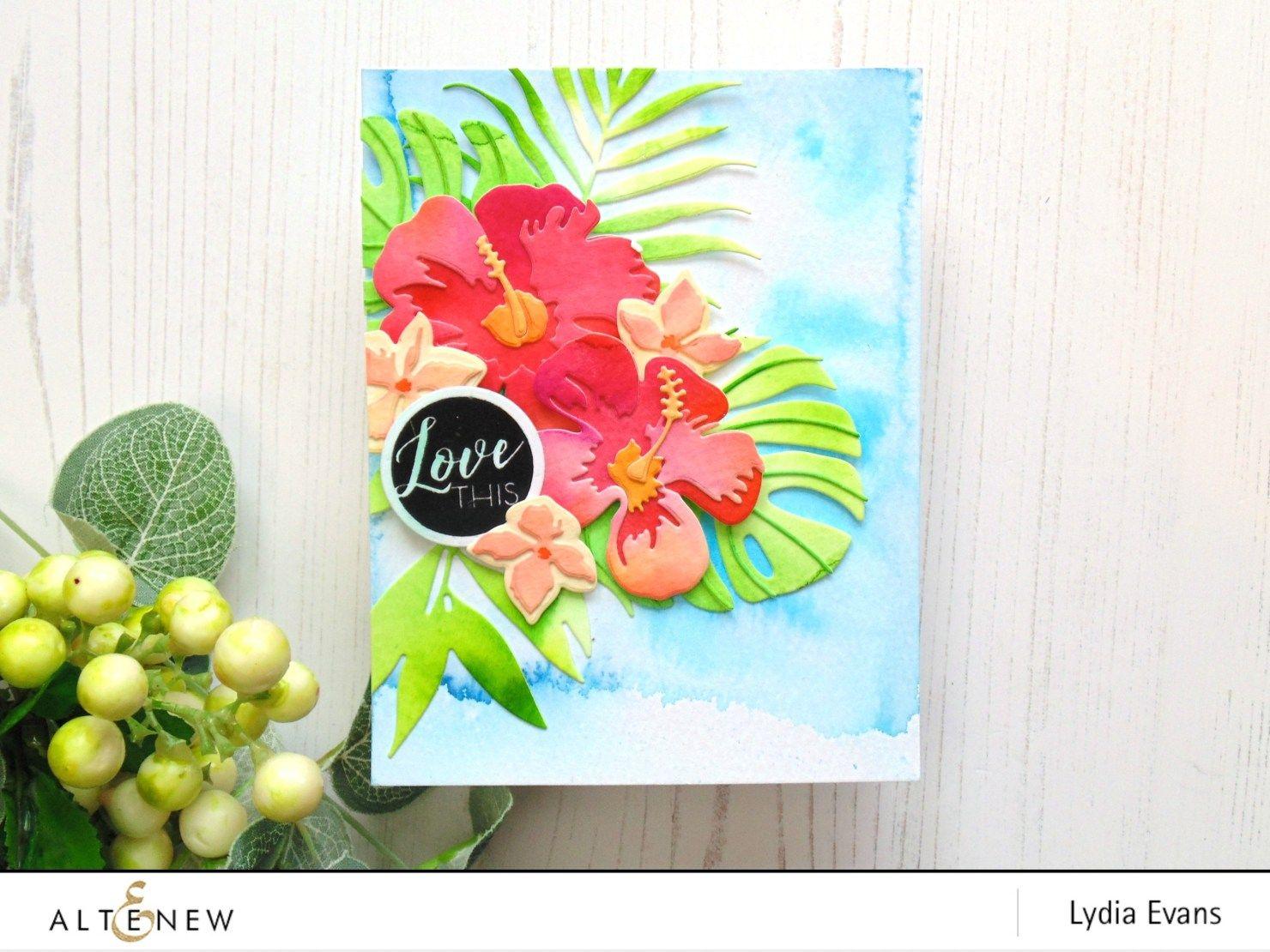 Lydia Evans Altenew Watercolor Brush Markers Release Blog Hop