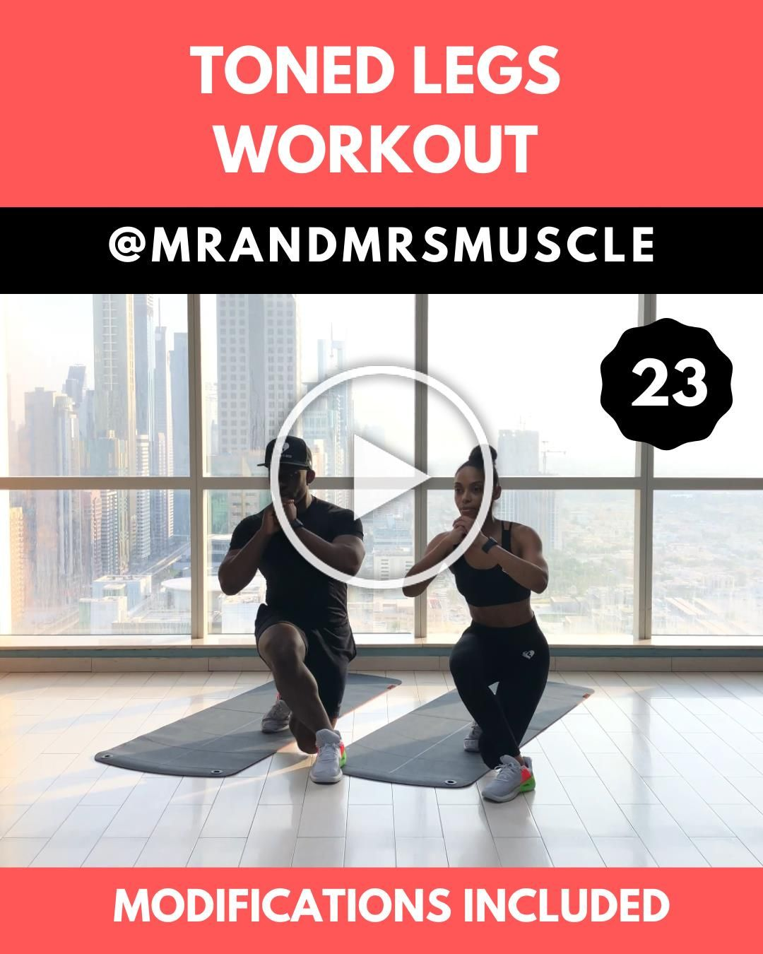 Tone your thighs and build your glutes with this intense HIIT Session!! The full workout is ready fo...