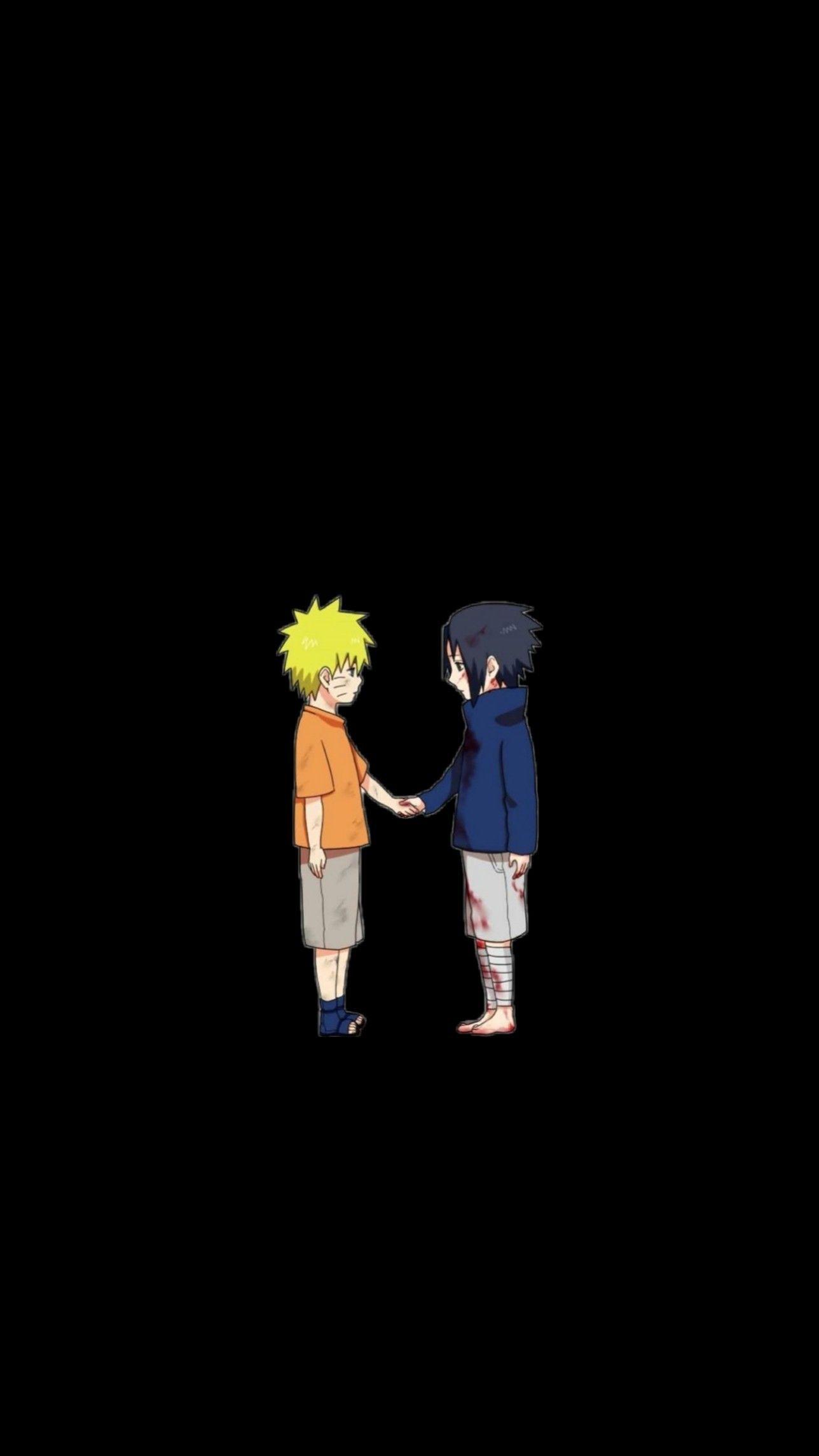 Naruto And Sasuke In 2020 Anime Lock Screen Wallpapers Iphone Wallpaper Vintage Anime Lock Screen