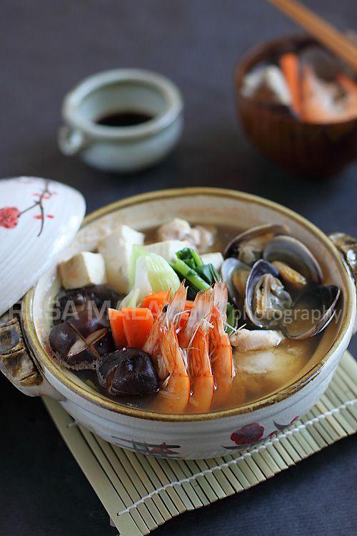 ishikari nabe recipe japanese chicken