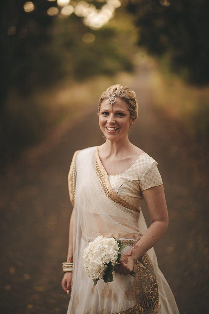 Relaxed, Elegant and Minimalist White and Gold Wedding #elegantwedding #rusticwedding