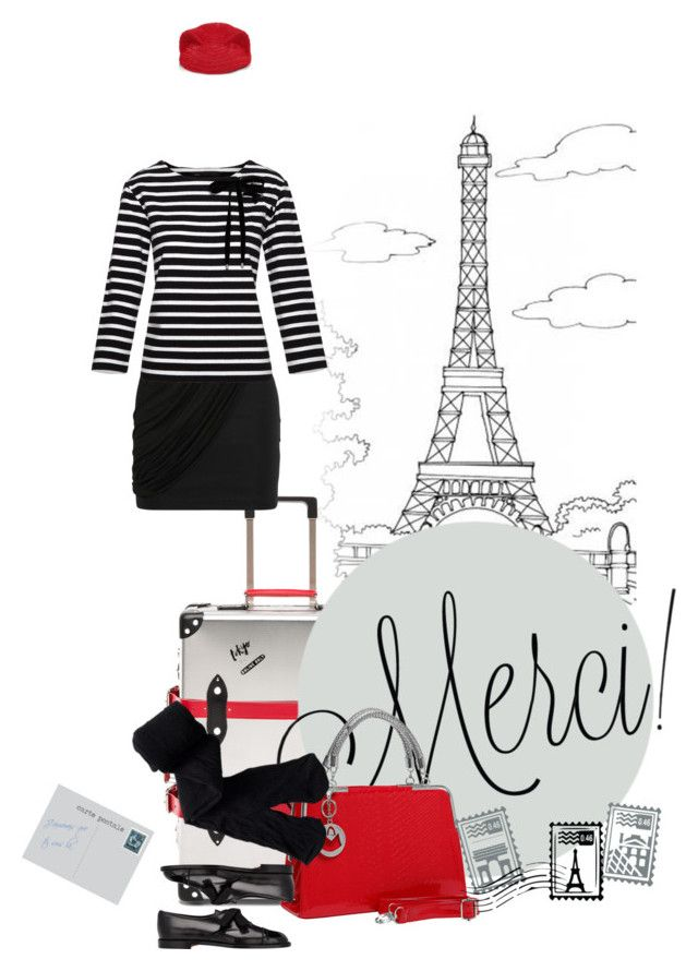 """Day 5: Seven Days in Paris"" by polylana on Polyvore featuring Maje, Marc by Marc Jacobs, Marie Mercié, Dot & Bo, Aéropostale, Manolo Blahnik, travel and paris"