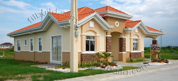 Filipino contractor architect bungalow house design for House paint design philippines